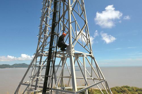 舟山最高电力铁塔图片